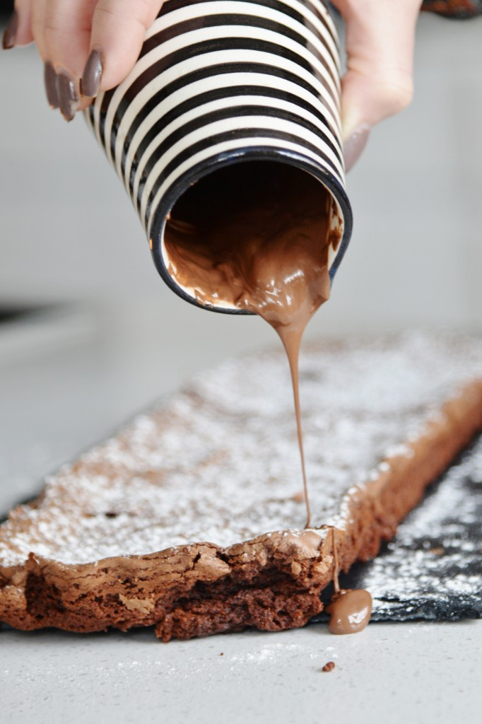 Nutellabrownie 6