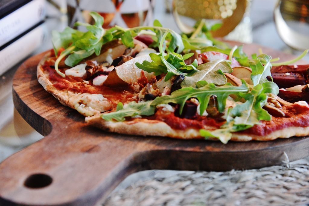 hembakad pizza