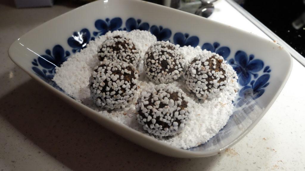 chokladbollar med nutella 1