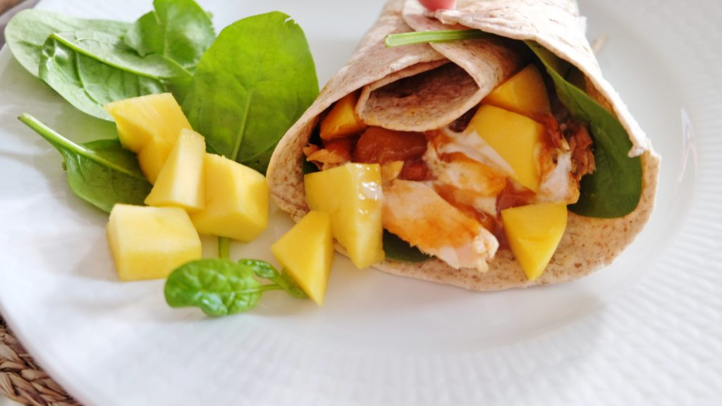 pulled salmon wraps 2