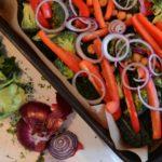 Middagstips med lax och rostade grönsaker