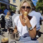 Äkta italiensk glass på Scarfo